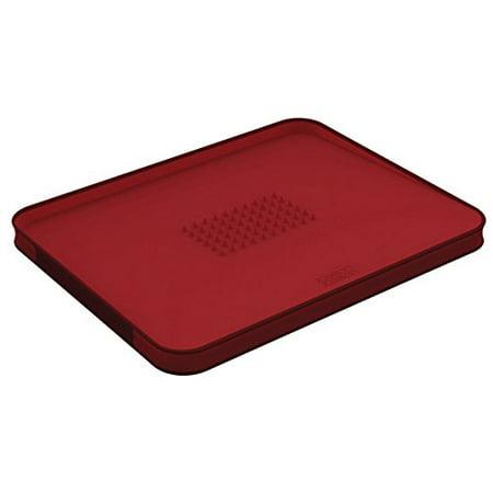 Joseph Joseph Cut&Carve Plus Chopping Board, Large - Red