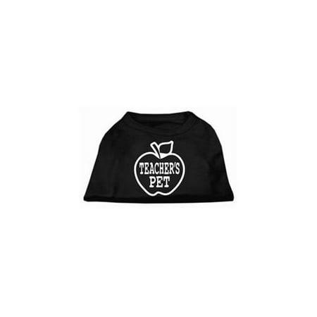 Black Pet Screen - Teachers Pet Screen Print Shirt Black L (14)