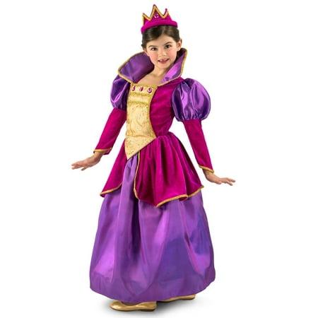 Girls Royal Jewel Princess Costume - Jewel Costume