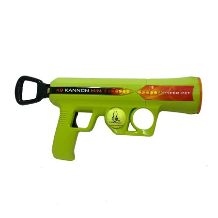 Hyper Pet K9 Kannon K2 Ball Launcher Interactive Dog Toys MINI Size (Load and Launch Tennis Balls for Dogs To Fetch)