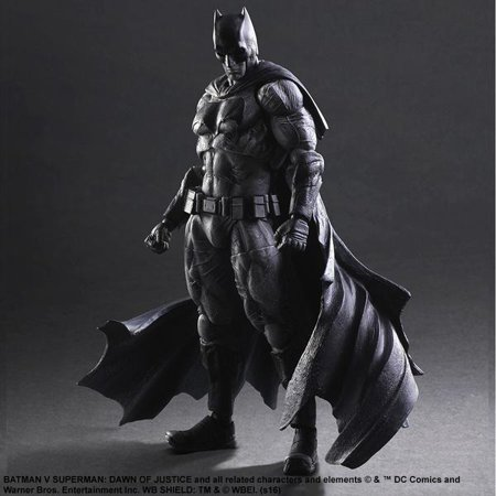 ac4f8a3a0c2 Batman v Superman - SDCC 2016 Play Arts Kai Black and White Batman -  Walmart.com