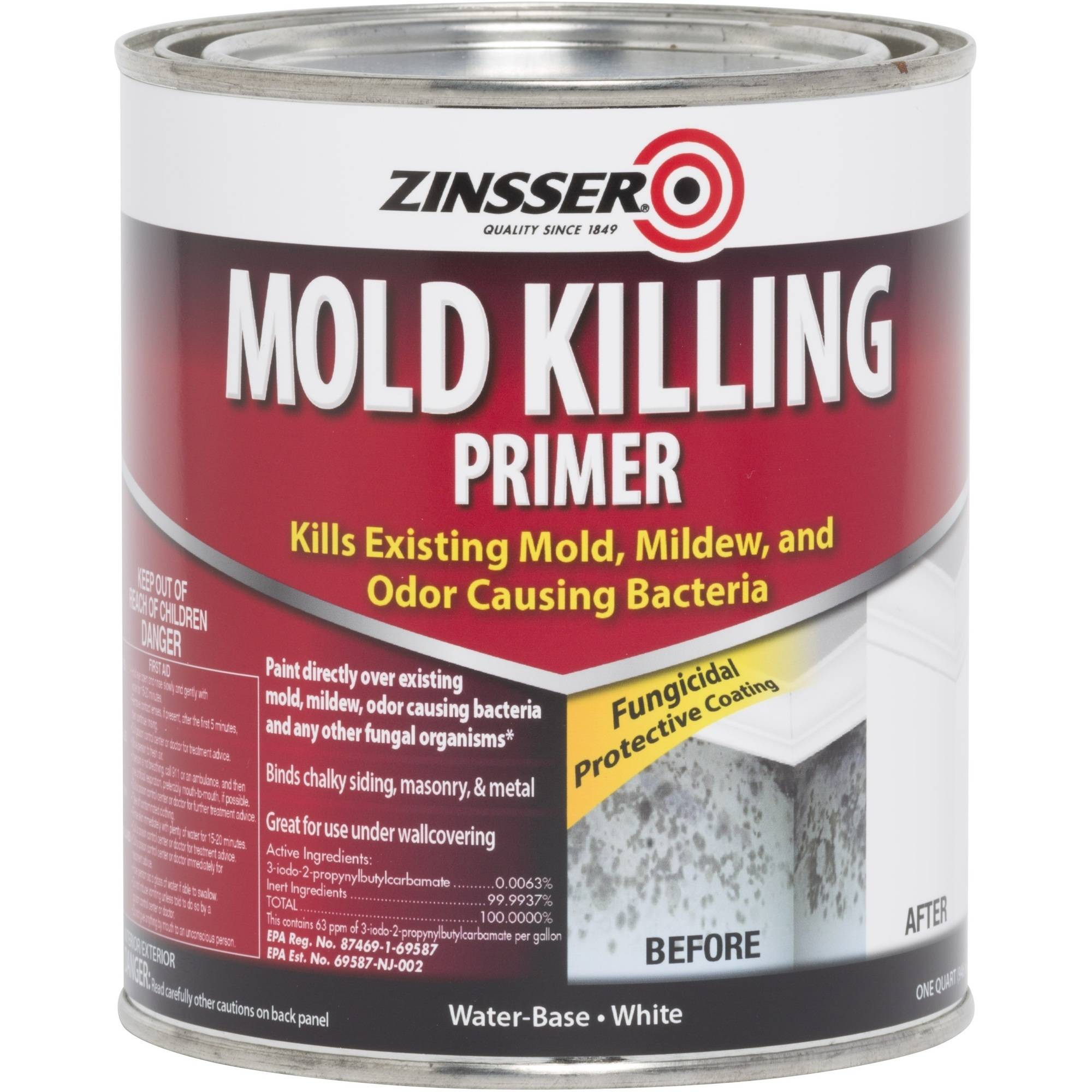 Zinsser Mold Killing Primer Quart