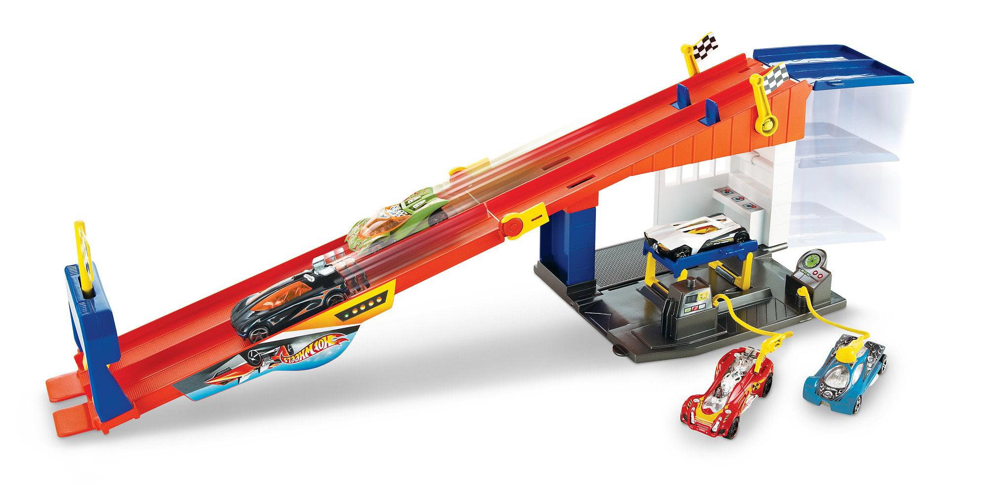Hot Wheels Rooftop Race Garage by Mattel