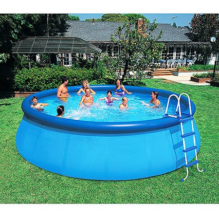Intex X Easy Set Above Ground Swimming Pool Walmart Com