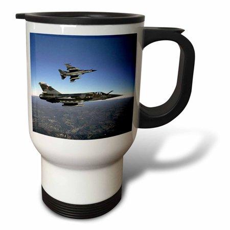 3dRose Air Force, Travel Mug, 14oz, Stainless Steel