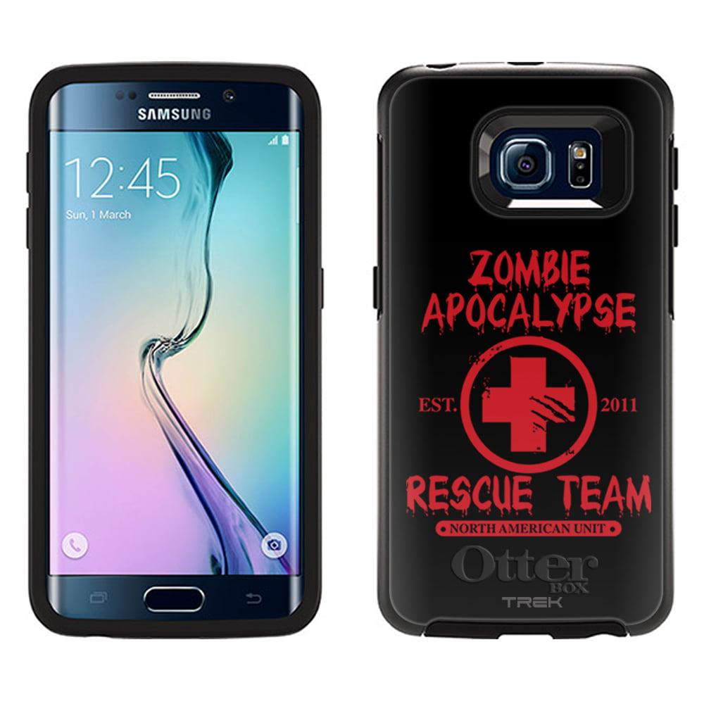 OtterBox Symmetry Samsung Galaxy S6 Edge Case -Zombie Apocalypse 2012 Rescue Team Red on Black OtterBox Case