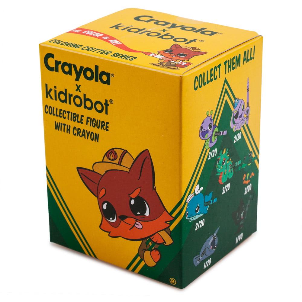 Blind Box Crayola Coloring Crayon Critters Mini Series Vinyl Figure by Kidrobot