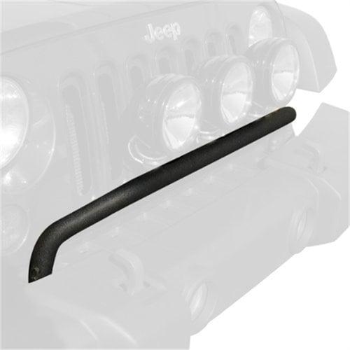 Rugged Ridge Textured Black Front Bumper Mount Light Bar 11232.20