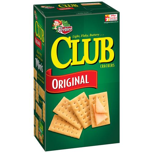 Keebler Club Original Crackers, 15.1 oz