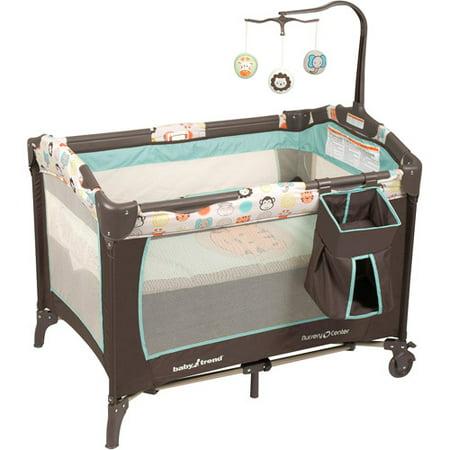 Baby Trend Nursery Center Playard Animal Bunch