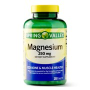 Spring Valley Magnesium Tablets, 250mg