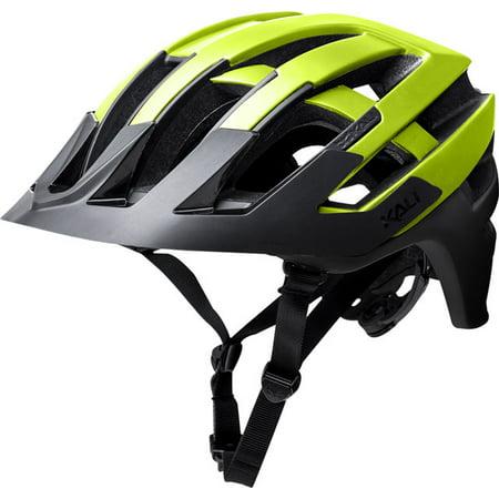 Kali Protectives Interceptor Helmet: Halo Matte Fluorescent Yellow/Black LG/XL - Buy Halo Helmet