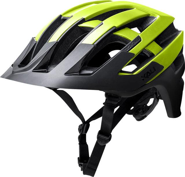 Kali Protectives Interceptor Helmet Halo Matte Fluorescent Yellow/Black SM/MD