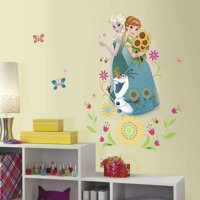 RoomMates Disney Frozen Fever Group Peel and Stick Giant Wall Graphic