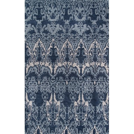 Momeni Rio Hand Tufted Polyester Denim Area Rug 2' X 3' ()