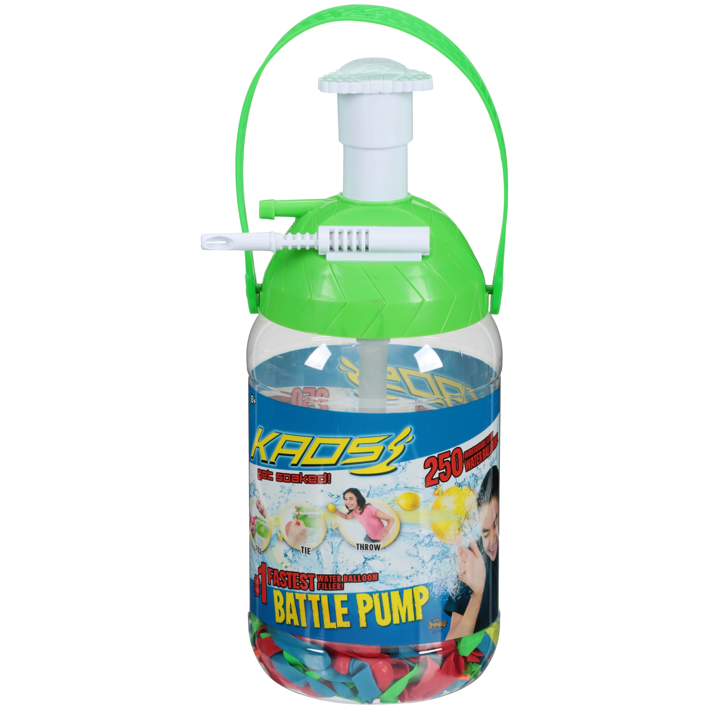 Imperial Toy KAOS Portable Pumping Station, Colors May Vary