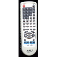 Apex remote controls walmart apex rm1600 pn rm1600 dvd player remote control refurbished fandeluxe Choice Image