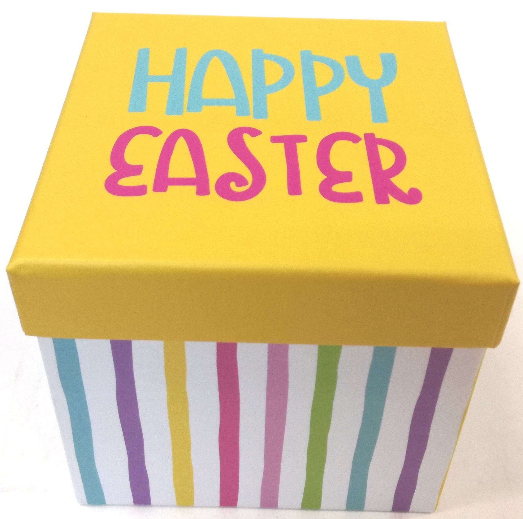 Easter -wal-mart Gift Box Ylw Easter