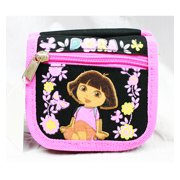 String Wallet - Dora the Explorer - Butterfly Black New Gift Toy Licensed a02778