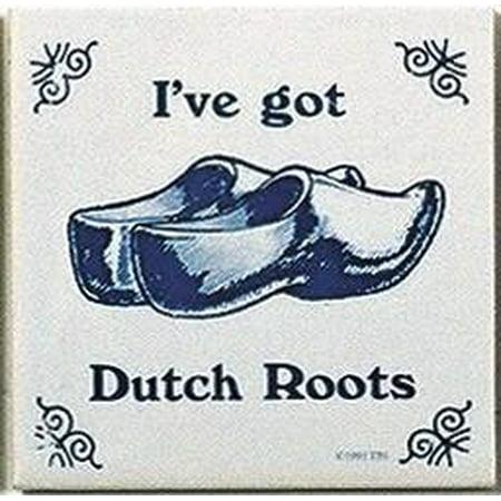 Dutch Tile (Dutch Culture Magnet Tile (Dutch Roots) )