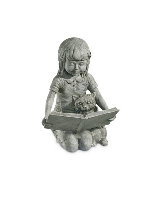 Sarah Statue in Moss Finish by CPI Inc