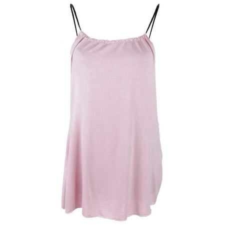S/M Fit Girly Glam Pink Halter Neckline Sphagetti Strap Dress