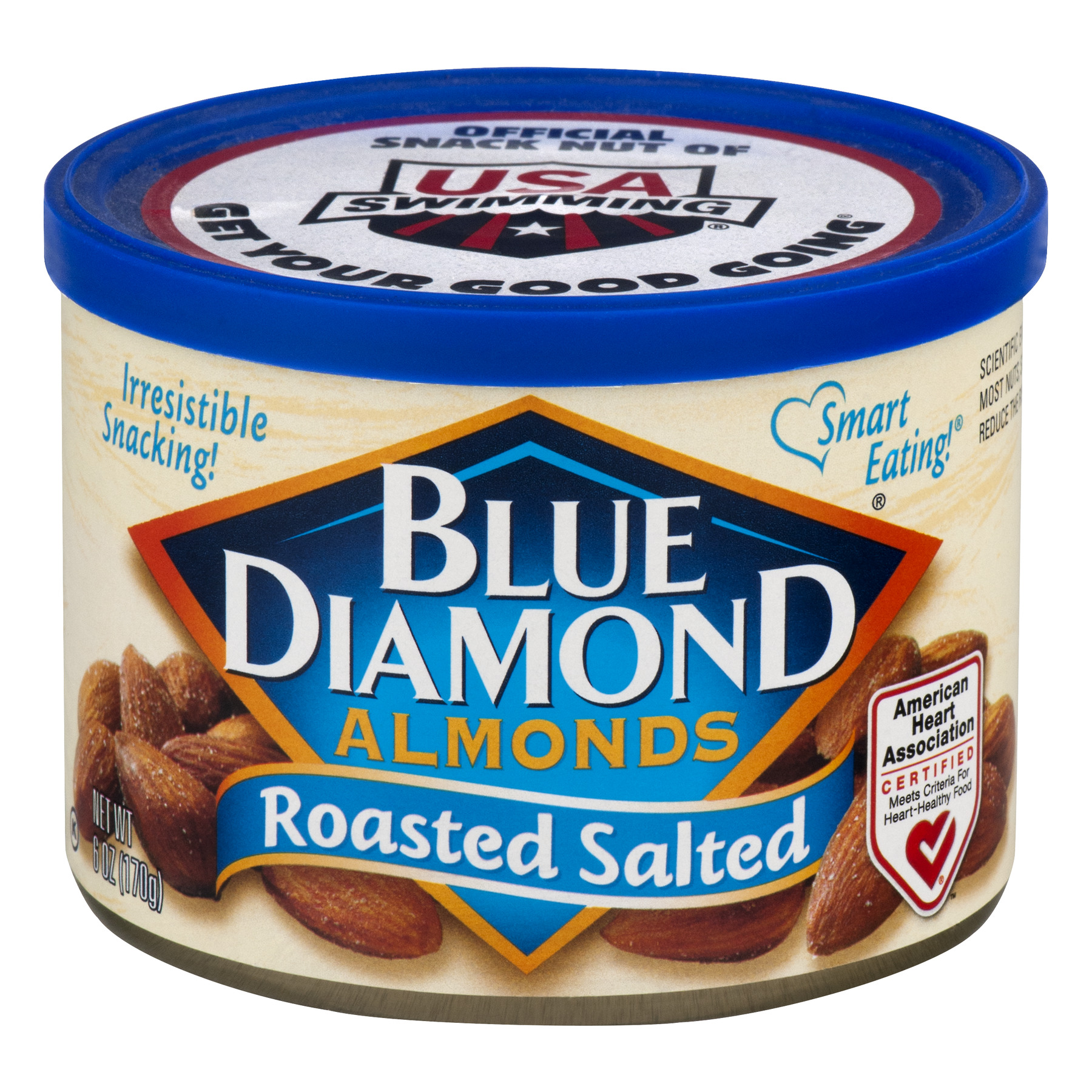 Blue Diamond Almonds Roasted Salted, 6.0 OZ