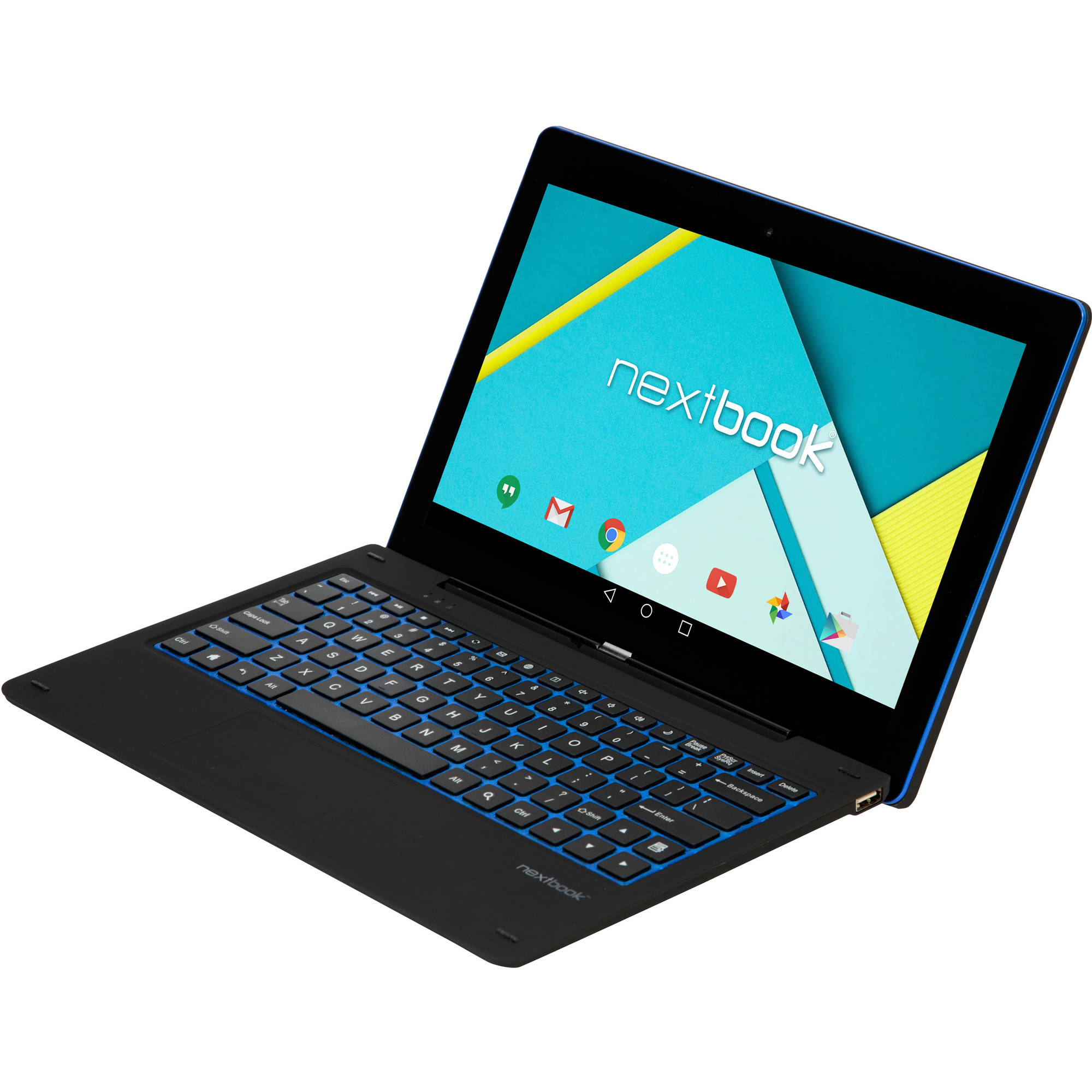"Nextbook Ares 11 with WiFi 11.6"" Touchscreen Tablet PC Featuring Android 5.0 (Lollipop) Operating System, Black"
