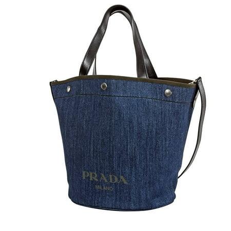 Prada Demin Bucket Bag