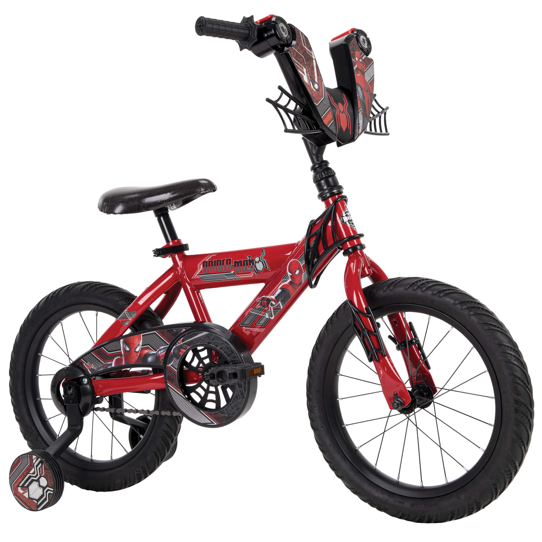 Marvel Spider-Man 16-inch Boys Bike for Kids by Huffy
