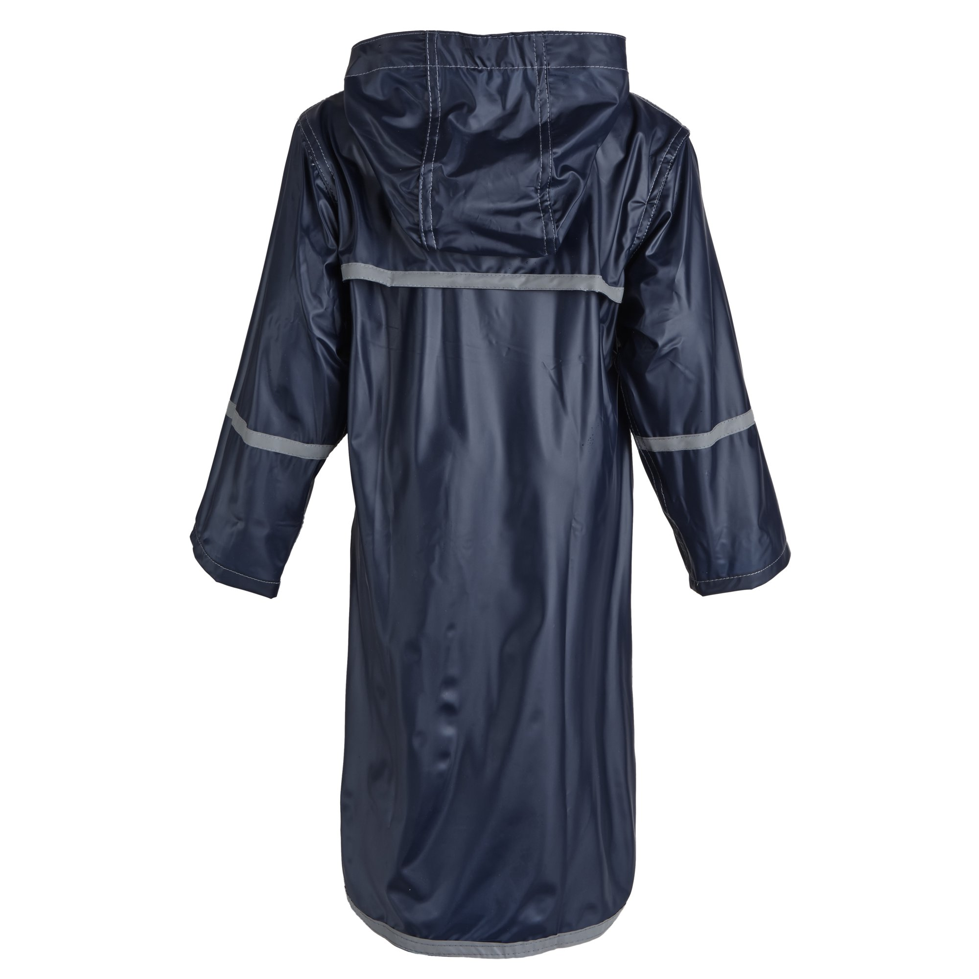 88e809f0d785 Buy Girls Kids Waterproof Full Length Long Hooded Raincoat Jacket ...