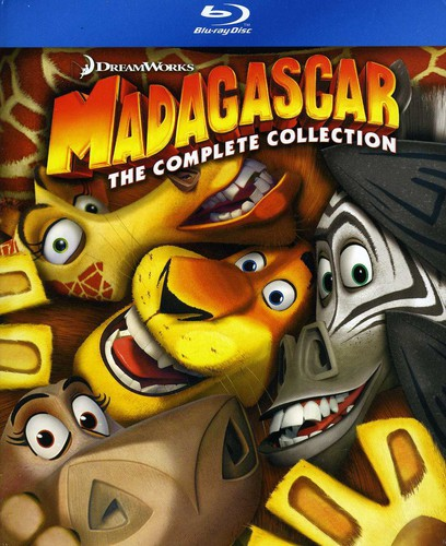 Madagascar: Complete Collection 1-3 (Blu-ray)