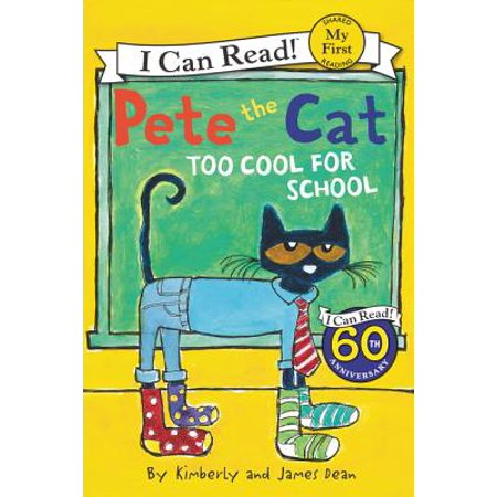 Pete the Cat: Too Cool for School (Paperback)](Cat Painting For Halloween)
