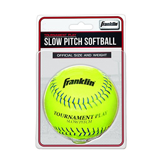 Franklin Sports Tournament Play Slow Pitch Softball, 12.0 in.