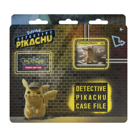 Pokemon TCG: Detective Pikachu Case File + 3 Booster Pack + A Promo Card + A Metallic