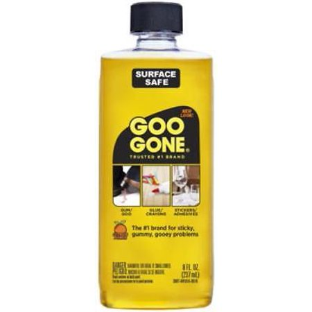 Tar Remover - NEW 2PK Goo Gone 8 OZ Remover Removes Chewing Gum Grease Tar Stickers