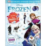 Ultimate Sticker Collection: Disney Frozen Ultimate Sticker Collection Includes Disney Frozen 2 (Paperback)