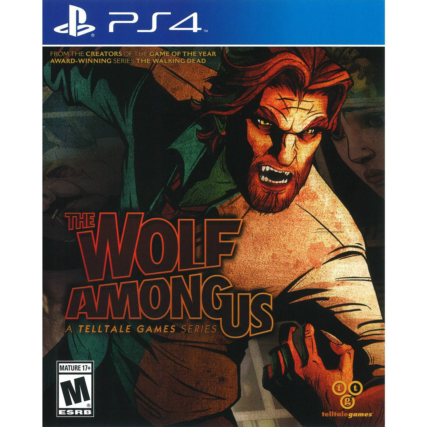 The Wolf Among Us (PS4) - Pre-Owned
