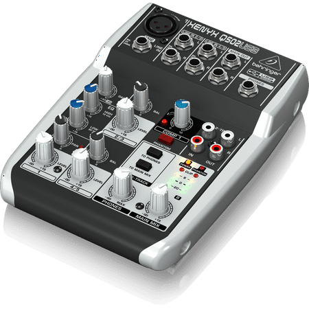 behringer q502usb 5 input 2 bus usb audio interface mixer w xenyx mic preamps british eq. Black Bedroom Furniture Sets. Home Design Ideas