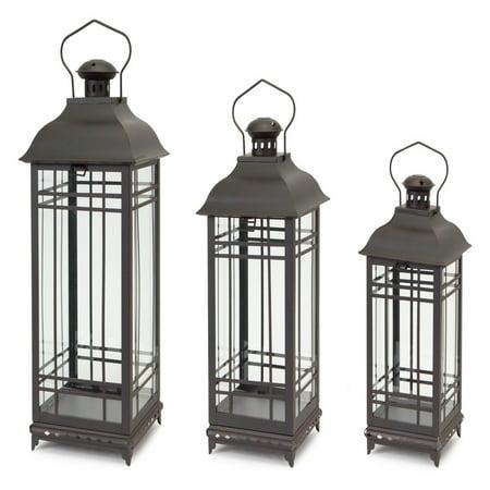 - Melrose International Derby Lantern - Set of 3