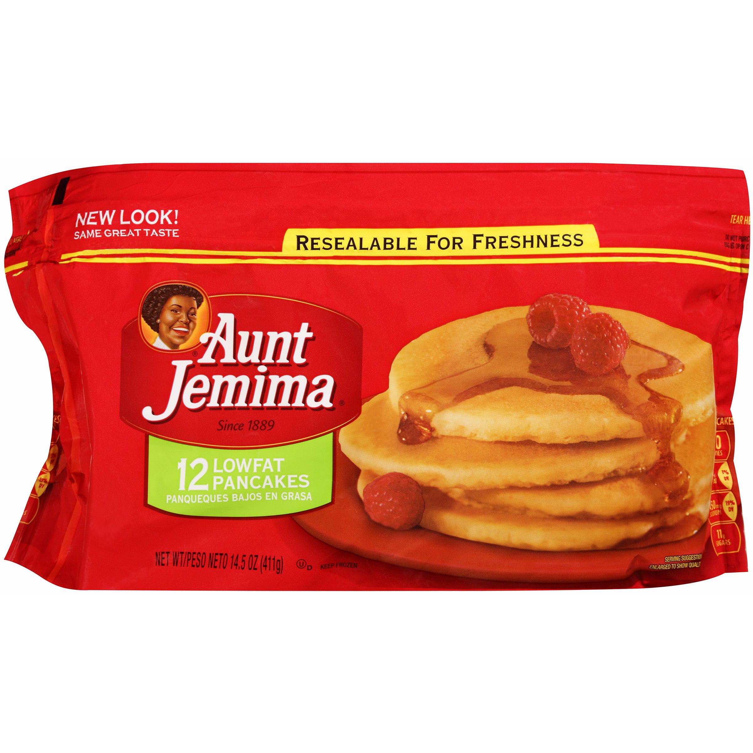 Aunt Jemima® Lowfat Pancakes 12 ct Bag