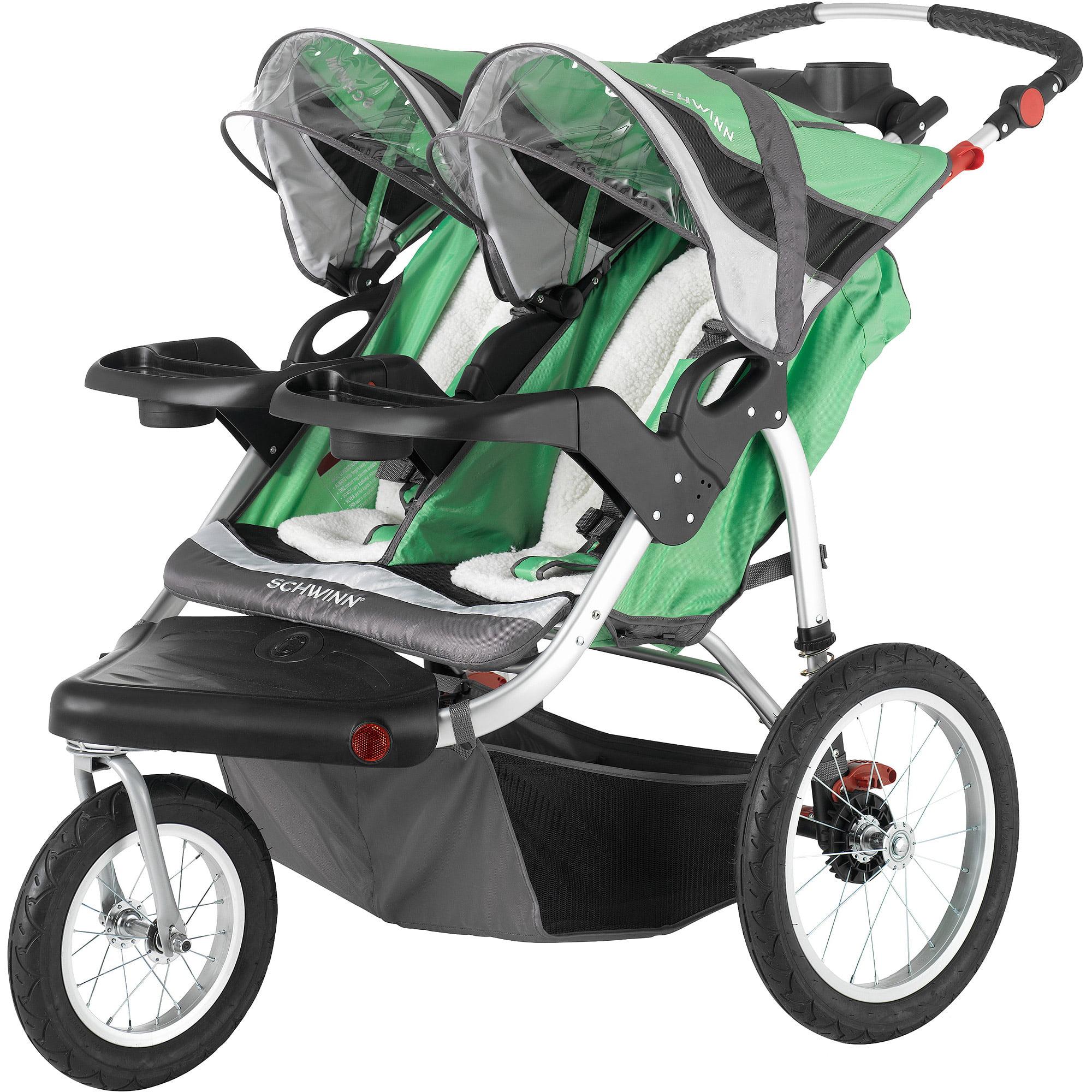 Schwinn Turismo Double Jogging Stroller - Walmart.com