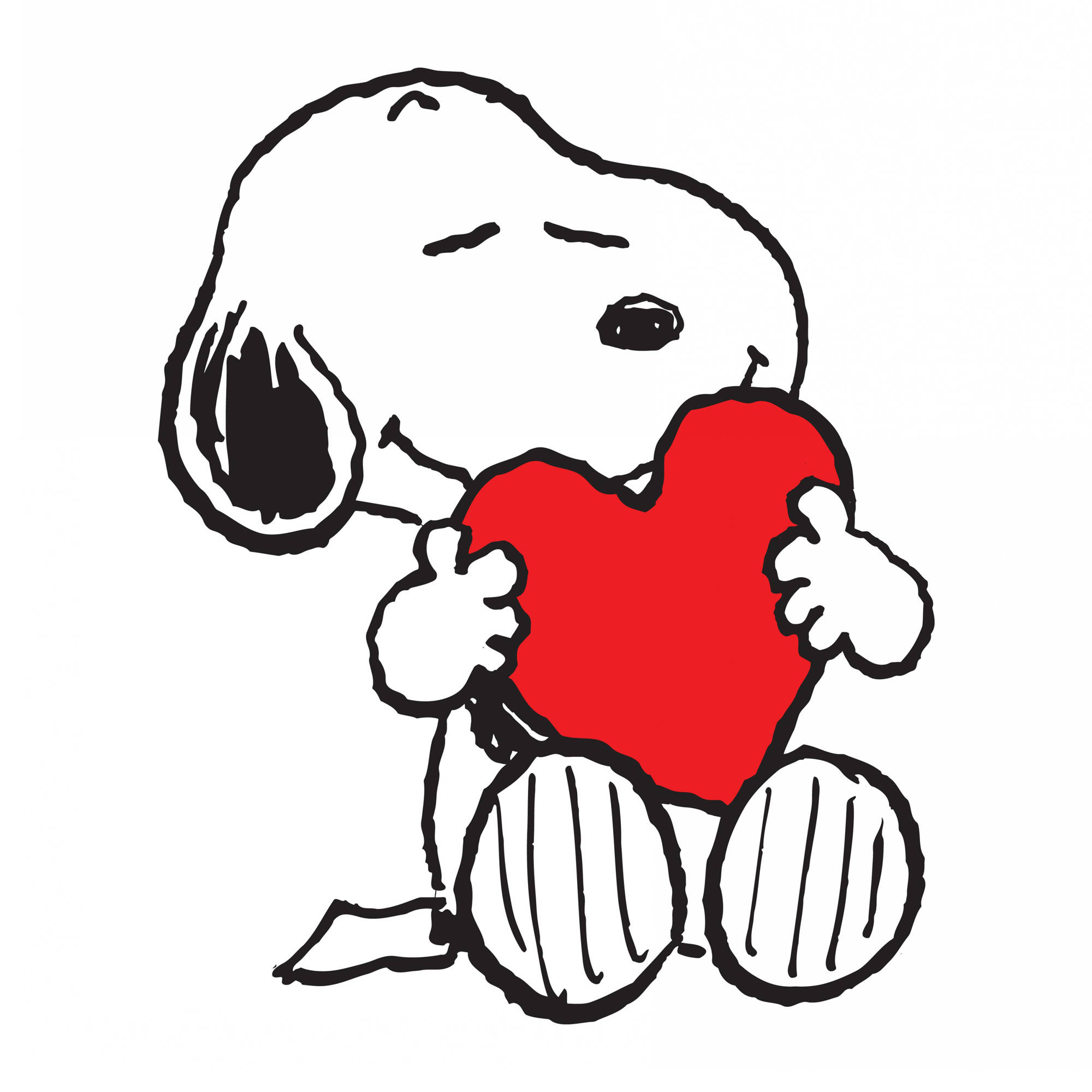 Marmont Hill Quot Snoopy Heart Quot Peanuts Print On Canvas