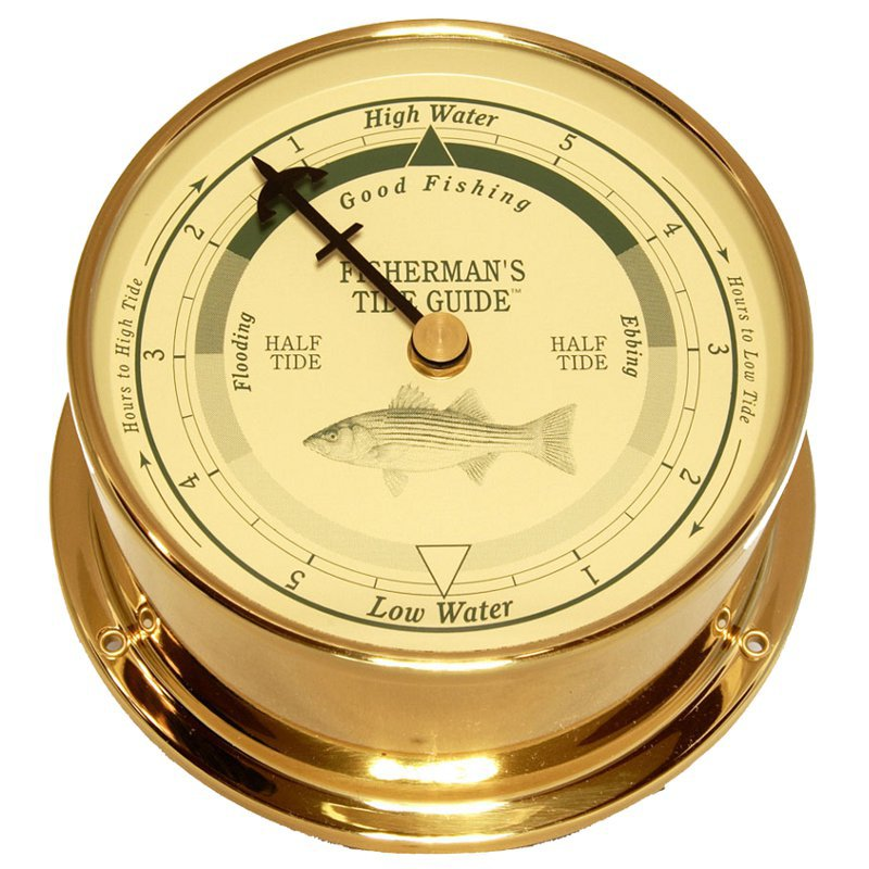 Downeaster Saltwater Series Fishing Tide Clock