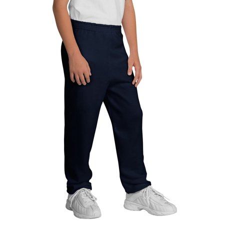 Port & Company® - Youth Core Fleece Sweatpant.  Pc90yp Navy Xl - image 1 of 1