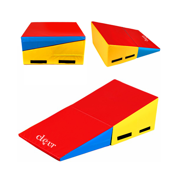Clevr Folding Tumbling Incline Gymnastic Exercise Gym Wed...