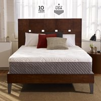 Sleep Innovations Shiloh 12-inch Memory Foam Mattress, Bed in a Box, Quilted Cover, Multiple Sizes