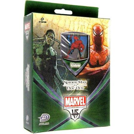 Marvel Web of Spider-Man Web of Spider-Man Starter Deck Spider-Man vs. Doc (The Amazing Spider Man 3 Doc Ock)