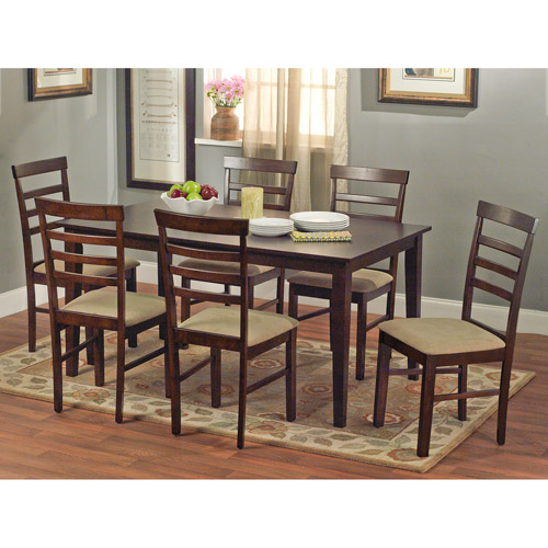 Havana 7-Piece Dining Set, Espresso