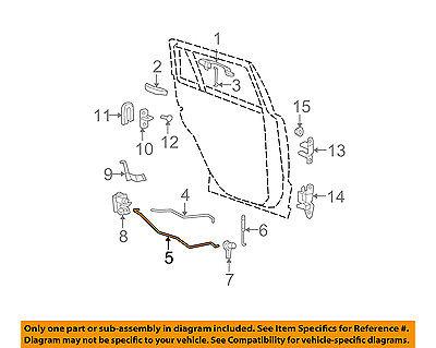 Dodge Chrysler Oem 0712 Caliber Lock Rear Doorlatch Rods Right. Dodge Chrysler Oem 0712 Caliber Lock Rear Doorlatch Rods Right 5074182aa. Chrysler. 2007 Chrysler Car Door Latch Diagram At Scoala.co